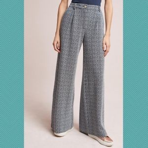 Anthropologie NWT wide leg trouser